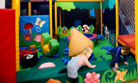 Toddler Soft Play area