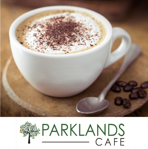 coffee at Parklands Cafe
