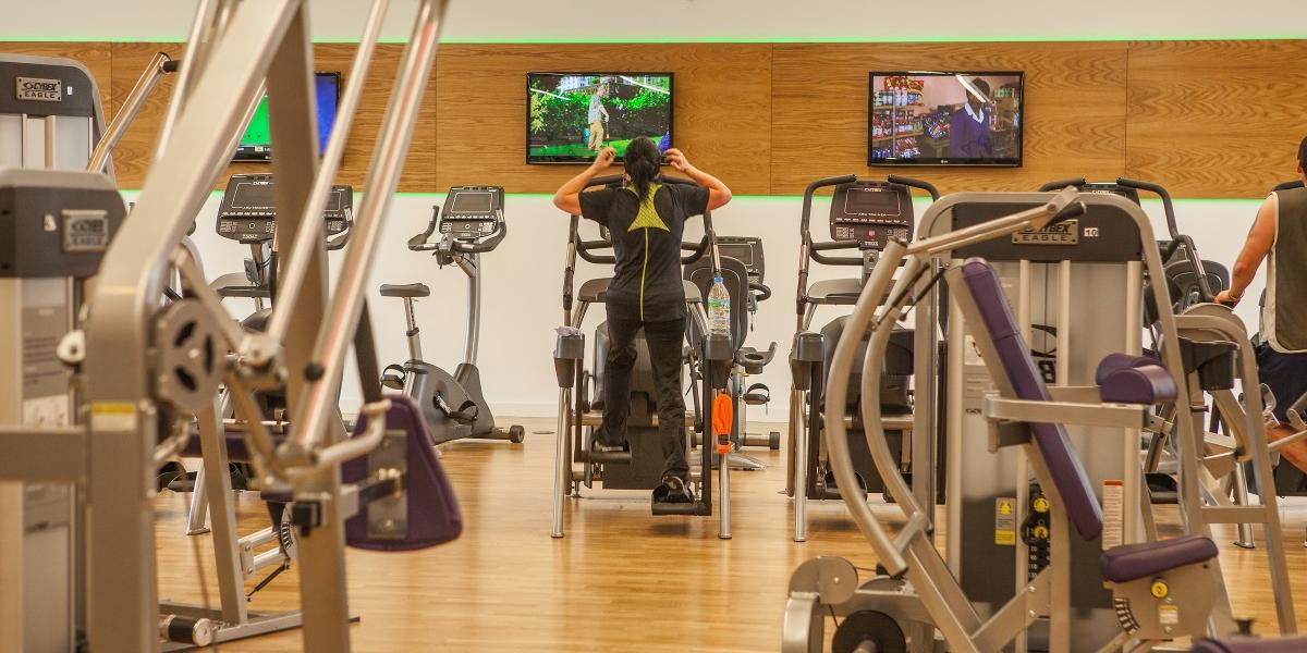 Photo of the gym at Comber Leisure Centre