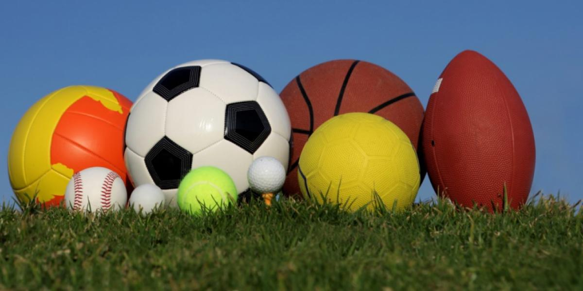 picture of various sports balls