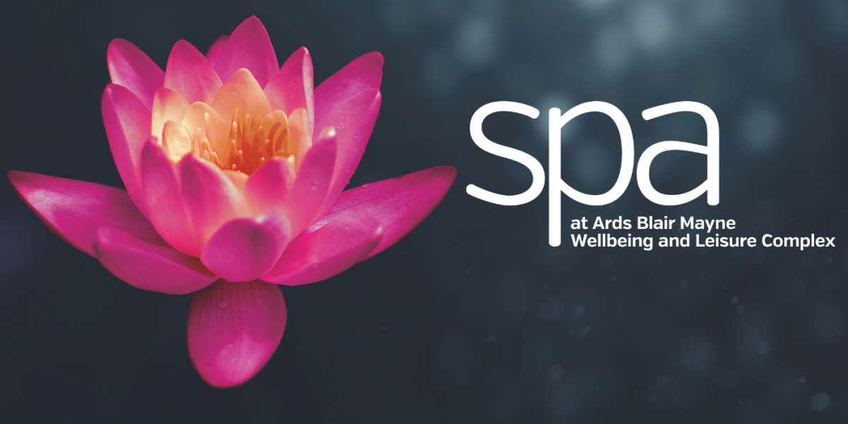 Spa at Ards Blair Mayne Wellbeing and Leisure Complex logo