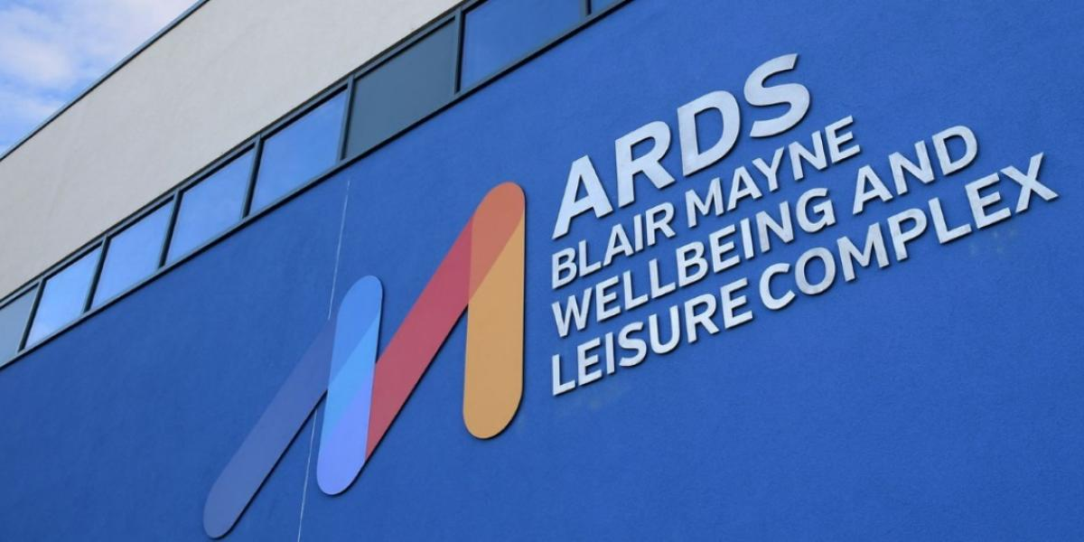 Graphic of Ards Blair Mayne logo